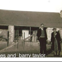 AGNES SANDERS TAYLOR AND BARRY TAYLOR AT ELLADALE, APPIN