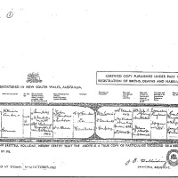 DEATH CERTIFICATE OF WILLIAM SANDERS 1910