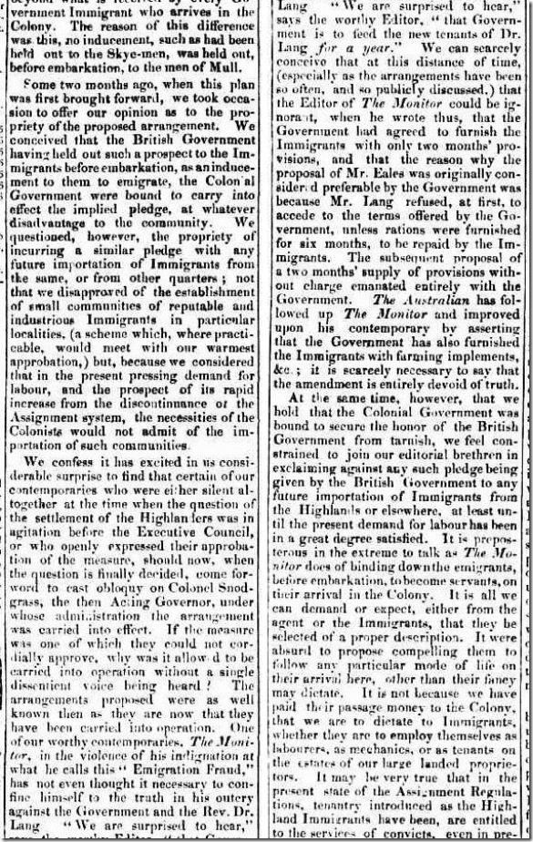 EM2article2550005-3-002The Sydney Gazette and New South Wales Advertiser, Thursday 1 March 1838, page 2