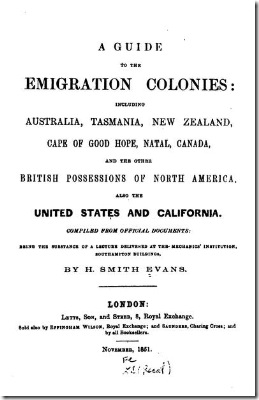 emigrants guide 1851