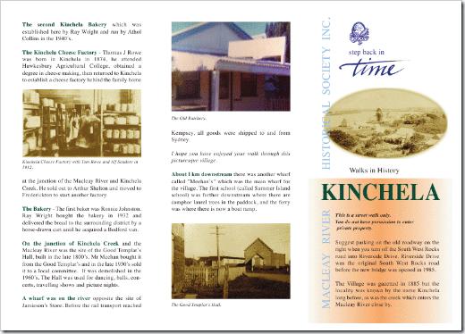 WALKS IN HISTORY KINCHELA