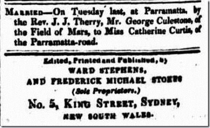 cath The Sydney Herald (NSW 1831-1842), Thursday 24 January 1833,