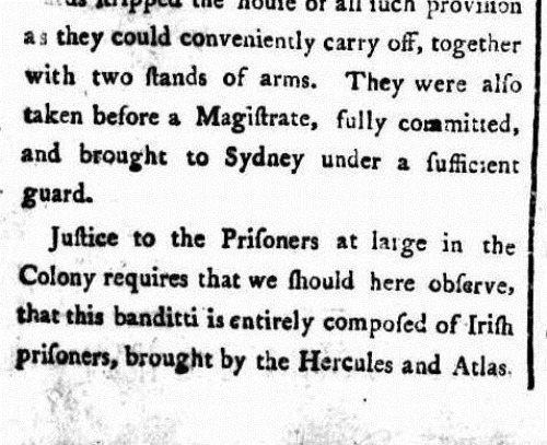 HERC 3 The Sydney Gazette and New South Wales Advertiser (NSW 1803 - 1842), Saturday 5 March 1803,
