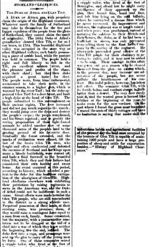 clearance The Brisbane Courier (Qld.  1864 - 1933), Friday 29 June 1883,
