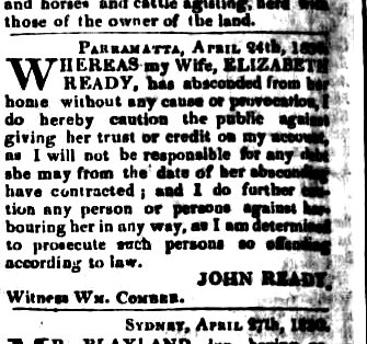 ready 1The Sydney Monitor (NSW 1828 - 1838), Wednesday 19 May 1830, page 4