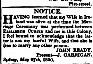 The Sydney Monitor (NSW : 1828 - 1838), Saturday 5 June 1830, page 3