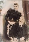 ELIZABETH GRACE EVERSON NEE SANDERS AND ALFRED EDRED EVERSON