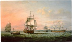 East Indiaman York  other vessels -Thomas Luney